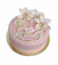 Торт на годовщину 30 лет свадьбы
